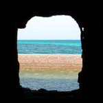Step back in time, view the sea from a cannon port hole