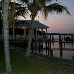 Peaceful evening at Cabbage Key